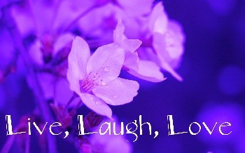 Live, Laugh and Love…